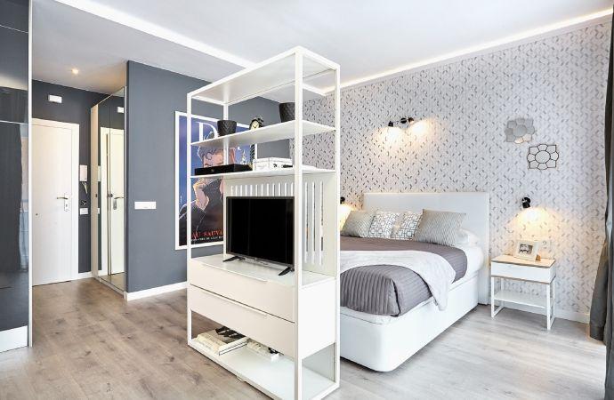 8188) Urban District Apartments Barcelona / Bedroom Area