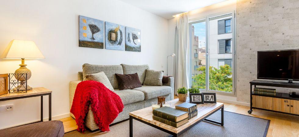 13886) UD Rambla Suites & Pool 26F (1BR), Barcelona