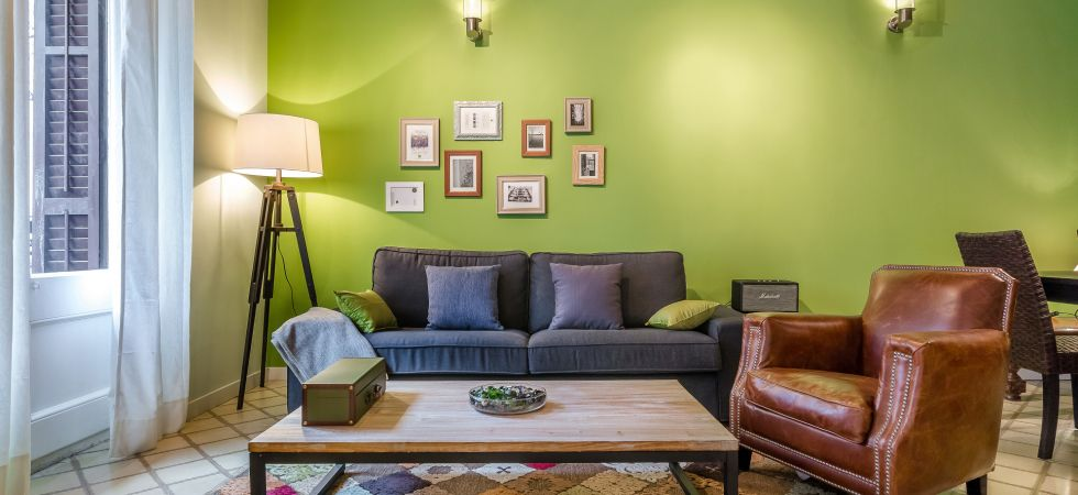 14255) Urban District Apartments - St. Antoni Green Market (3 BR), Barcelona