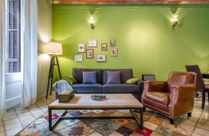 14255) Urban District Apartments - St. Antoni Green Market (3 BR), Barcelona