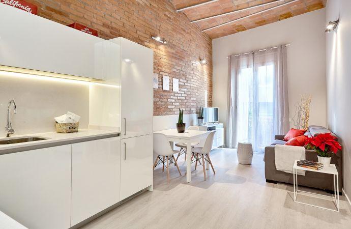 13763) UD Apartments - Marina Vintage with balcony (3BR), Barcelona