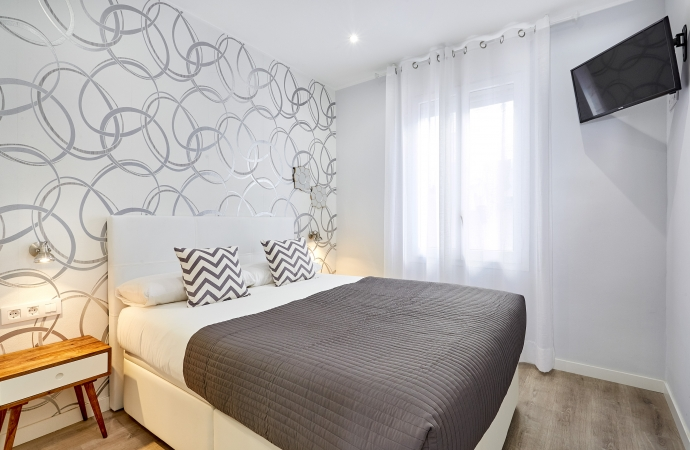 7605) Urban District - MA31 Apartment with terrace (3BR) 4 - MID STAY RENTALS, Barcelona