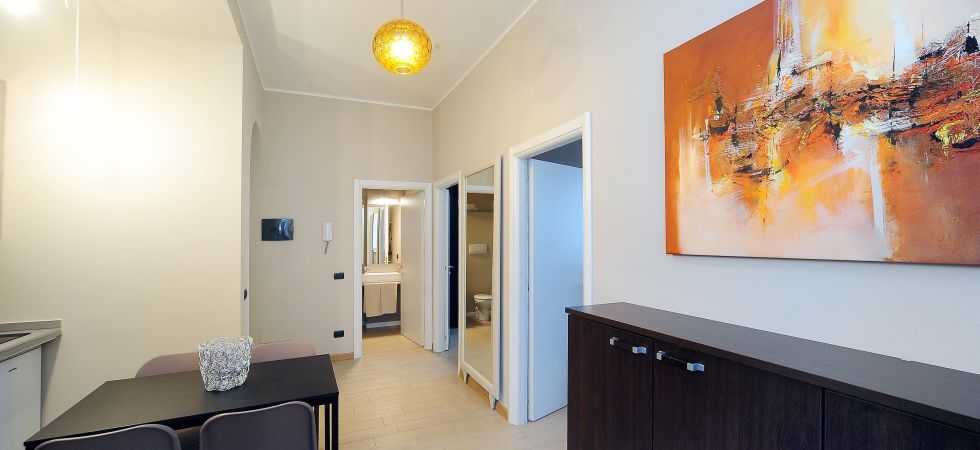 9504) Urban District Apartments - Milan Old Town Central (2 BR), Milano