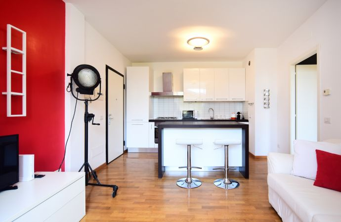 13737) UD Apartments - Navigli with Terrace , Milano / Kitchen