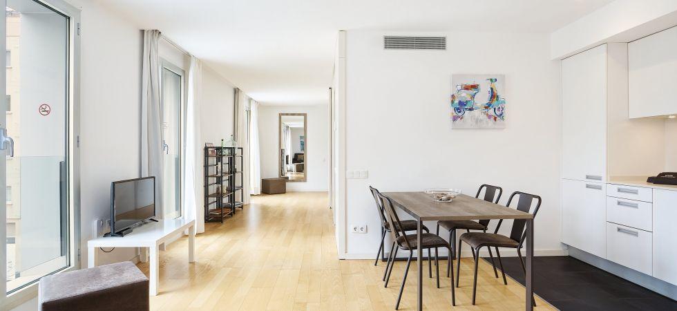 14747) UD Rambla Suites & Pool  25 (1BR), Barcelona